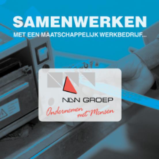 Brochure: Samenwerken met een maatschappelijk werkbedrijf - NLW Groep
